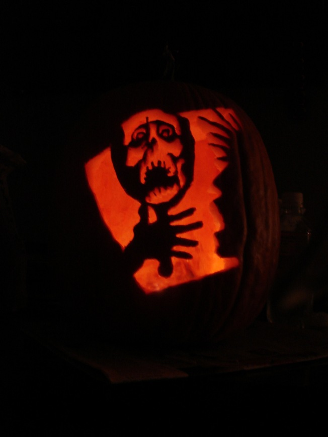 Halloween 2006 - Scary Mirror Face