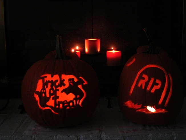 Halloween 2009 - Carved Pumpkins