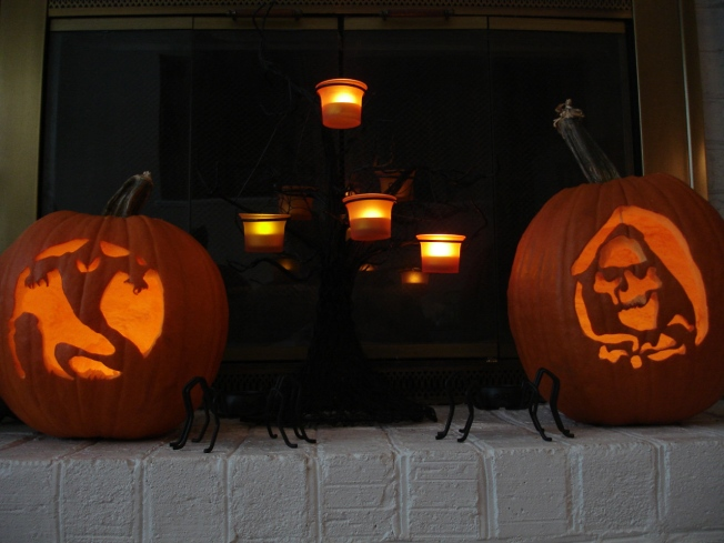 Halloween 2010 - Carved Pumpkins