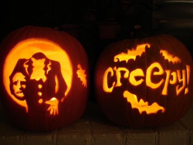 Halloween 2011 - Carved Pumpkins