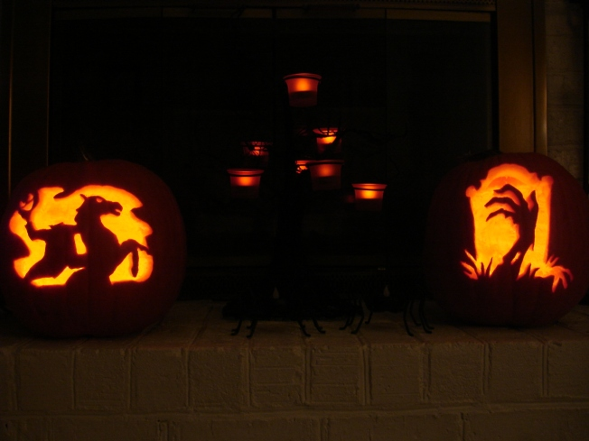Halloween Pumpkins 2012
