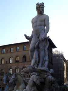 Fountain of Neptune by Ammannati in Florence