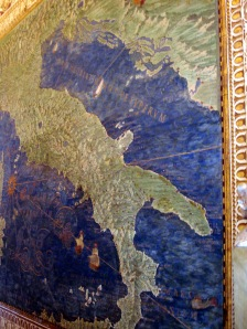 Map of Italy circa before airplanes!