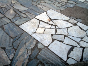 Marble floor 1 Pompeii