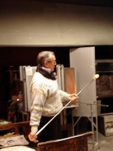 Master Glassman in Venice Italy
