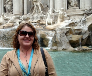 Me at Trevi Fountain, Rome