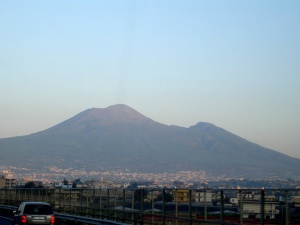 Moutn Vesuvius and modern times