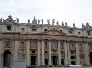 Outside St. Peter's