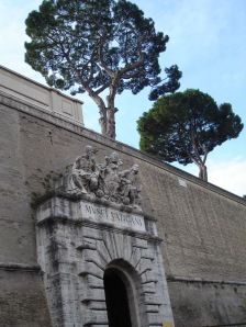 Outside Vatican City Walls 2